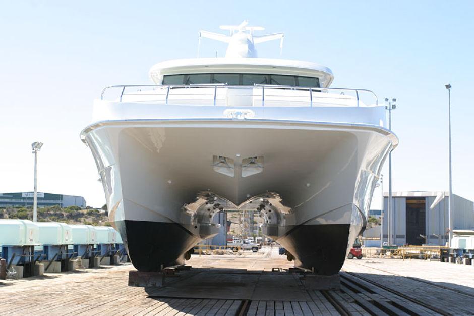 Shoreline Marine Fabrication - Boat Builder - 30m_cruisng_catamaran