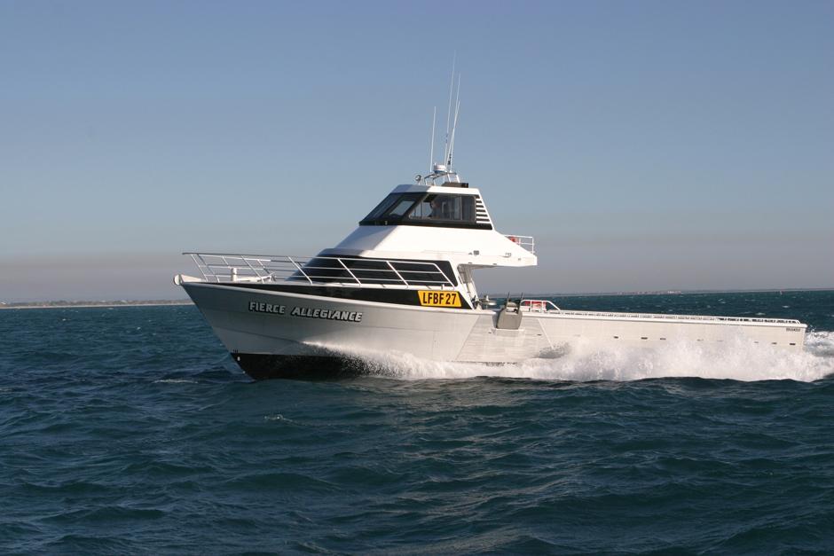 Shoreline Marine Fabrication - Boat Builder - Fierce Allegiance