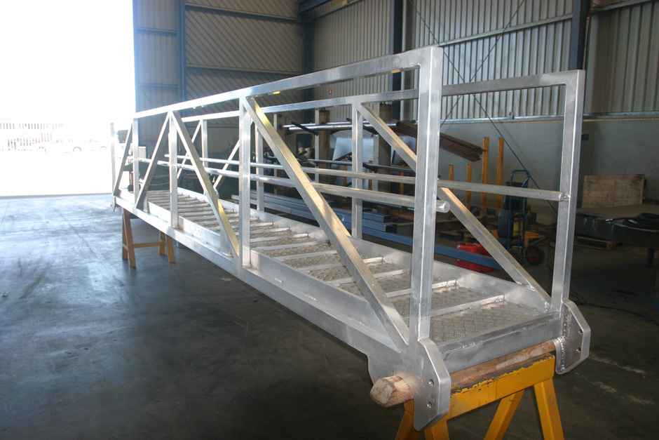 Marine fabrication - pontoons and jetties - Shoreline Marine Fabrication