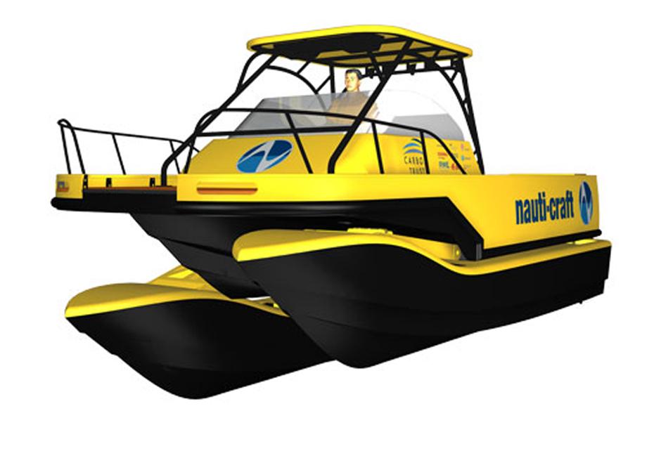 Shoreline Marine Fabrication - Boat Builder - 8m Catamaran Prototype
