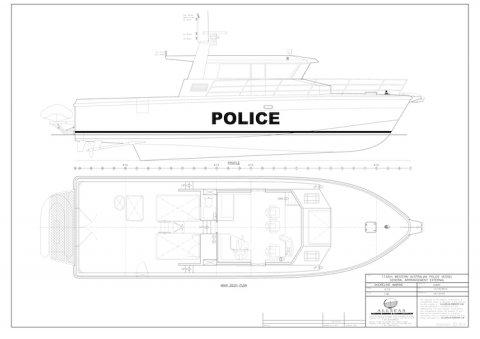 Shoreline Marine Fabrication - Boat Builder WA Police Patrol Vessel
