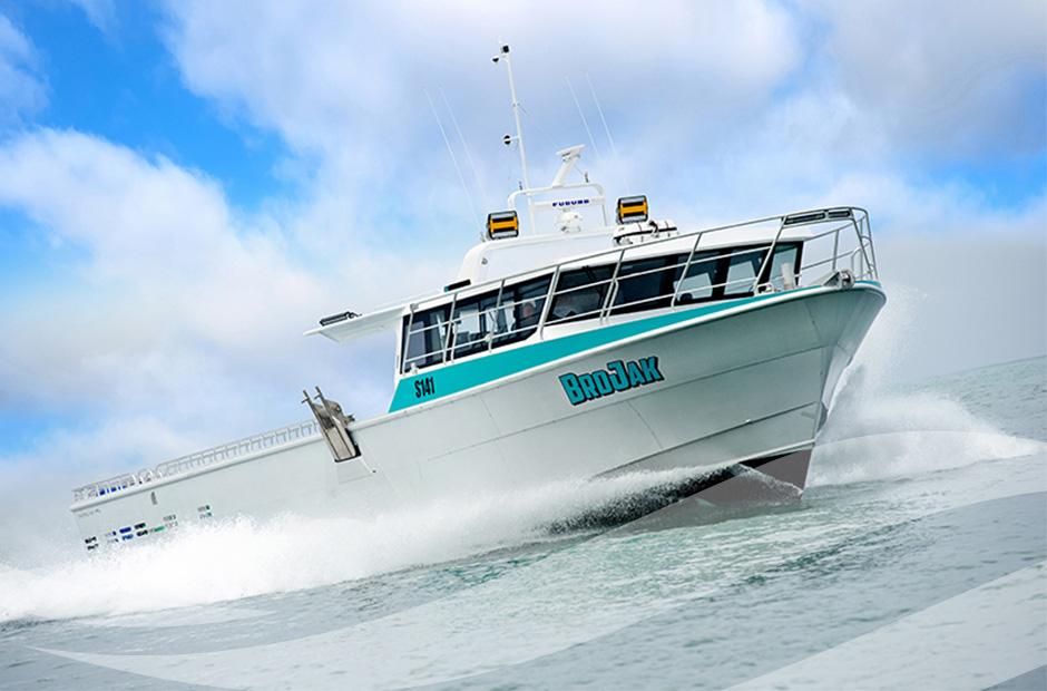Shoreline Marine Fabrication - Brojack 17.35M COMMERCIAL FISHING VESSEL